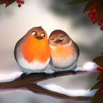 Фото Ирина Богушевская, Андрей Усачёв, Александр Пинегин - Сидели две птички